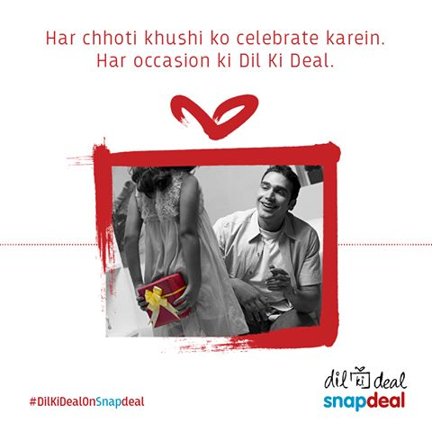 We want you to celebrate every moment! Find your ‪#‎DilKiDealOnSnapdeal‬