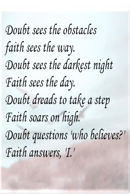 Faith        LOVE IT !!!!!