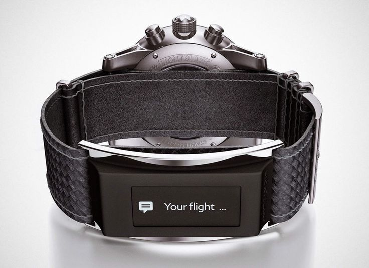 It's in the band, not the watch! awsome smart-watch for any watch
