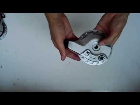 BIKE ROLLER BREMSE - demontering stykke for stykke BR-IM45-R - YouTube