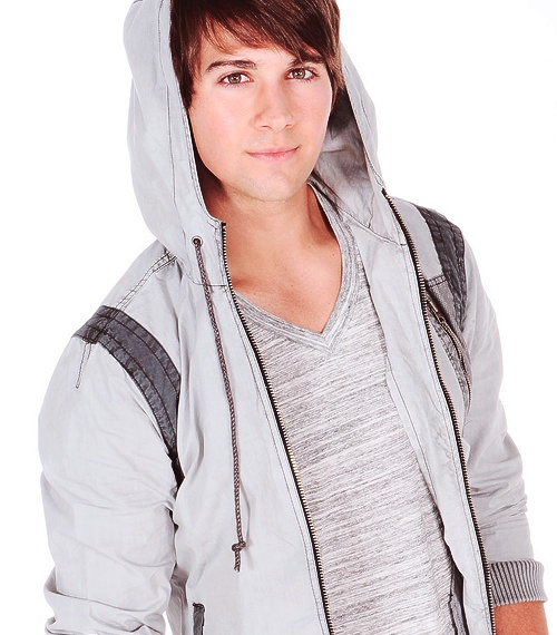 James Maslow looking too damn attractive for his own good.