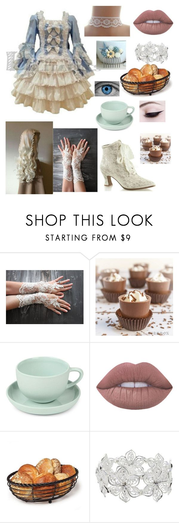 """""""@gglloyd OC Charlotte"""" by winternightfrostbite ❤ liked on Polyvore featuring Mud Australia, Lime Crime and M&Co"""