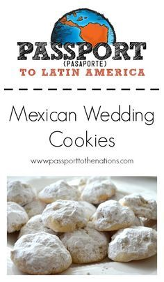 Mexican Wedding Cookies!  This is a traditional Mexican dessert that is great for special occasions or an everyday snack! Also known as biscochitos, povorónes, snow ball cookies, etc.