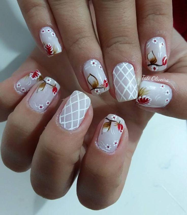 Pin de Marielos em Exclusividad en uñas | Unhas, Design de