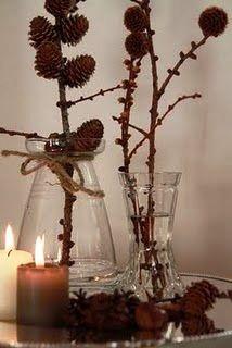 Festa, Sabor & Decoração: Decoração de Natal rústica