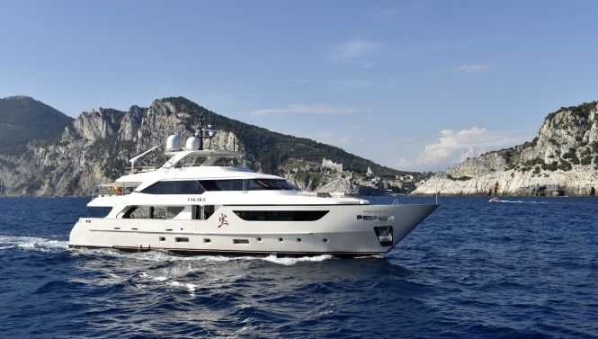 Special offer: M/Y Takara ready for Mediterranean charter with Mallorca berth included