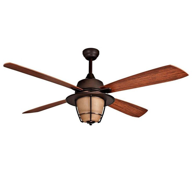 """56"""" Morrow Bay Ceiling Fan - E-MR56ESP4C1 - UL Wet Rated Outdoor Use"""