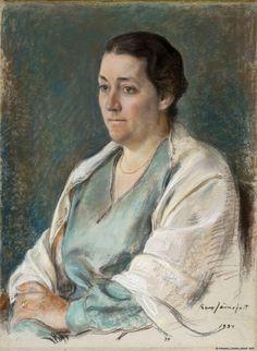 eero järnefelt Ester Sihtola (maalaus) 1934 Finland