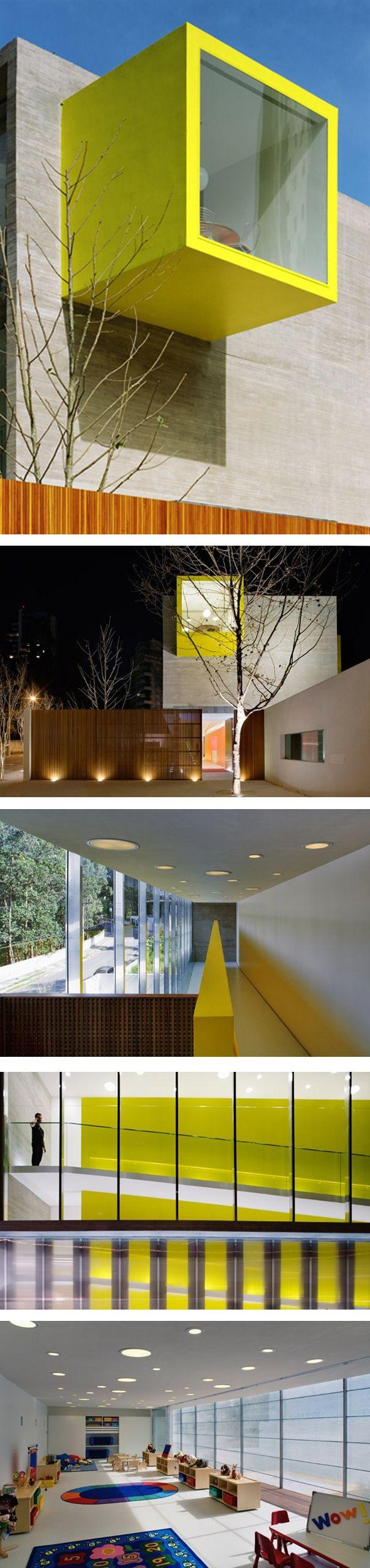 Ecole maternelle par studio mk27.