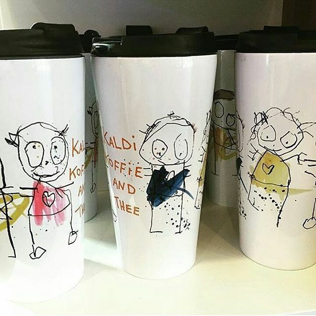 Drink mug for takeaway #poulpava #aida