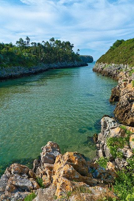 Playa de Guadamia, Llanes, #Asturias
