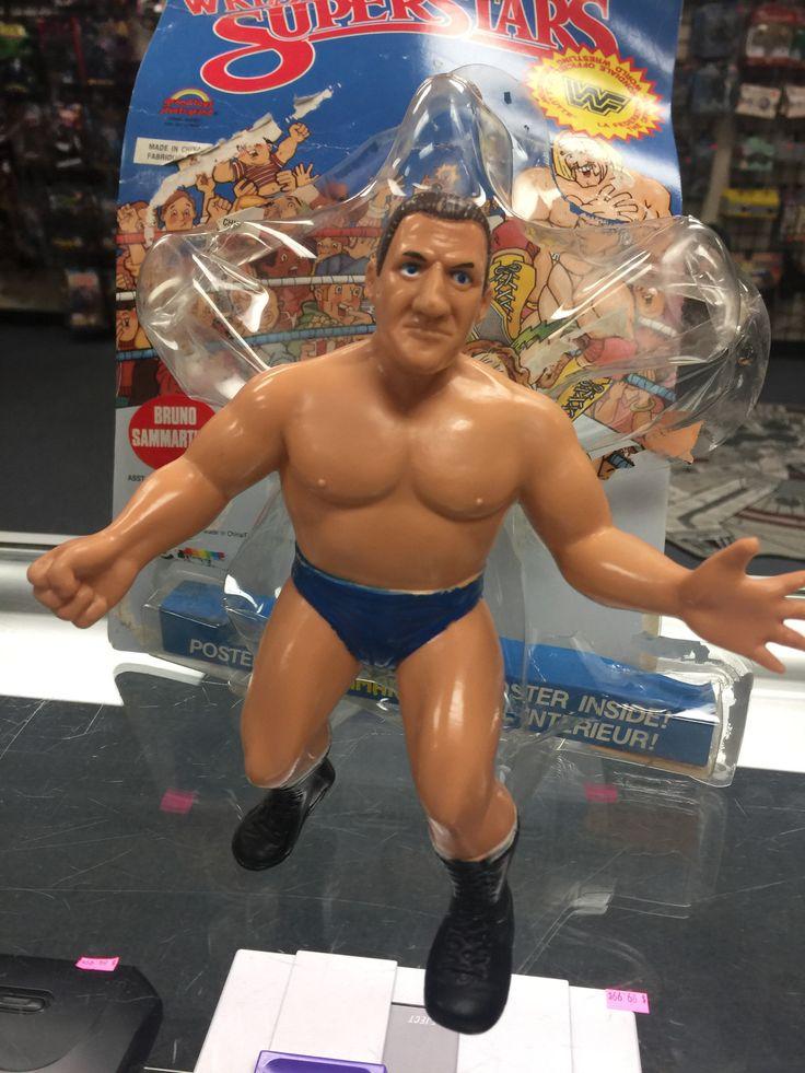 WWF Wrestling Superstars Bruno Sammartino LJN
