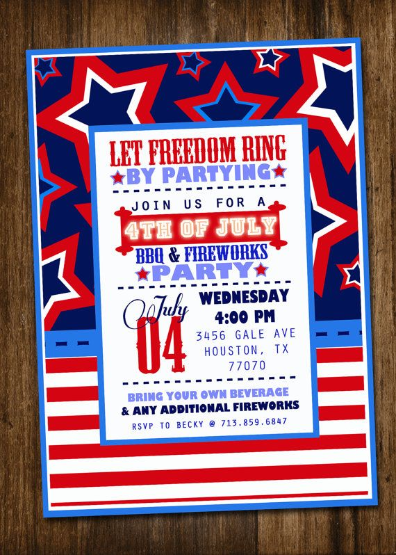 fourth of july flyer