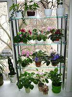 """Подставка для цветов """"Стеллаж на подоконник"""" , фото 1"""
