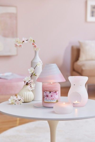 Yankee Candle Tranquility Pink Donut Teelichthalter