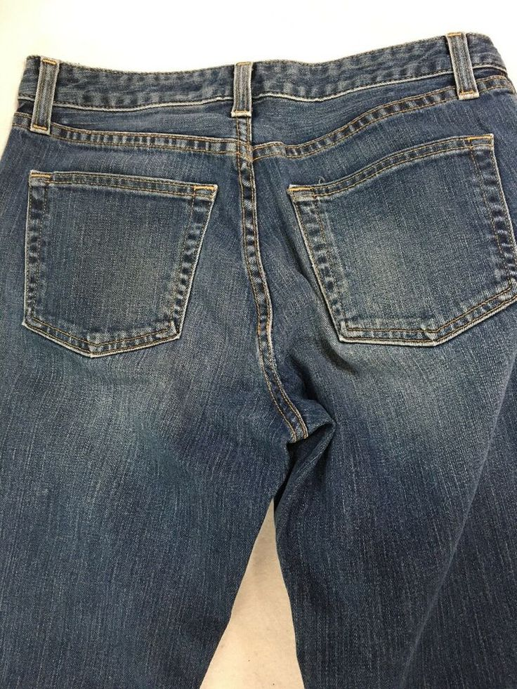 Gap jeans size 6l long bootcut stretch spandex made in usa