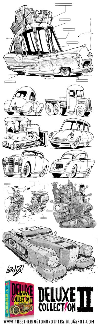 The Etherington Brothers: Deluxe Collection 2 preview - VEHICLES