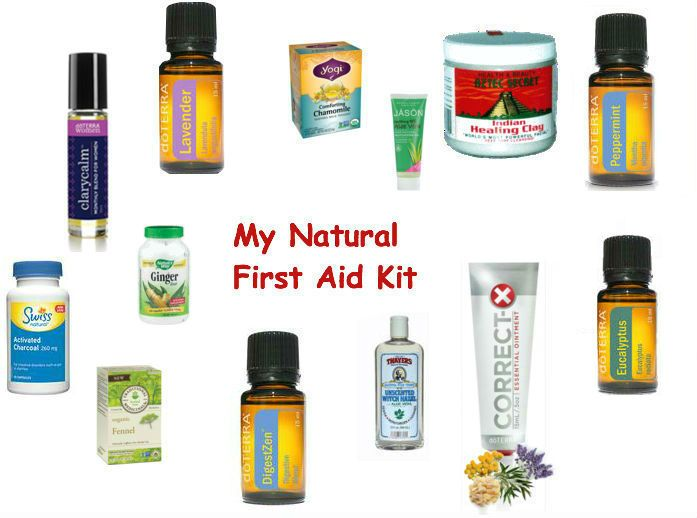 I decided to replace my conventional first aid kit with a natural one. Find out what I put in my natural first aid kit.