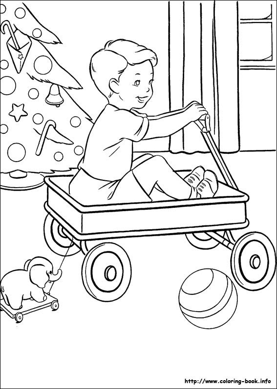 Christmas Present Coloring Sheets Presents Candle And Tree Pages For Kids Printable Page Little Boy