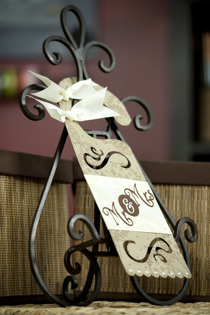 Cricut doorknob hanger