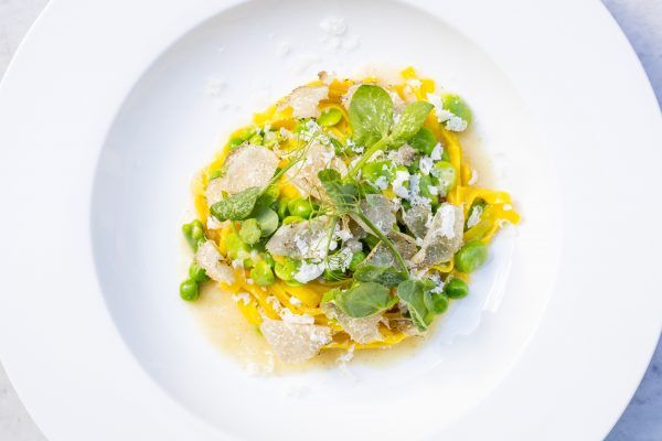 Francesco Mazzei's recipe makes the perfect spring dish, combining Italian basics like Grana Padano PDO cheese with luxurious black truffle. Perfect served with a chilled glass of Prosecco DOC