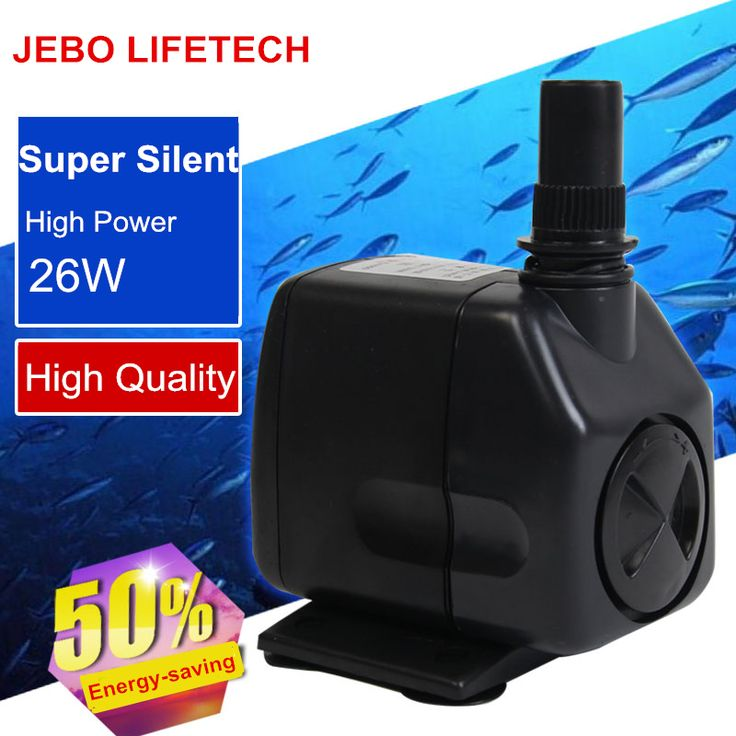 JEBO LIFETECH Aquarium Submersible Pump 26W Aquarium Pump Aquarium Fish For The Water Pump Increase Oxygen Filter AP2000 #Affiliate