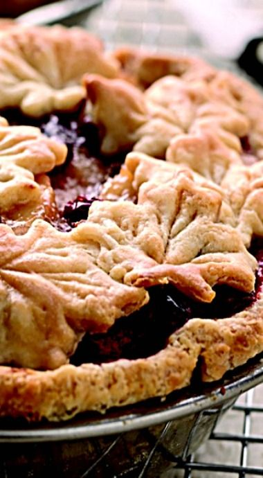 Cranberry Apple Pie - with a layer of pecans on the bottom and the added kiss of orange zest, this pie is truly something special and sure to become your signature holiday dessert. ❊