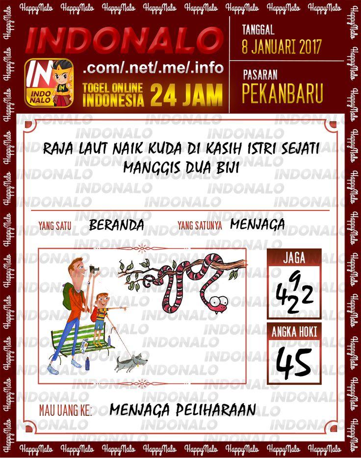 Kode Jaga 4D Togel Wap Online Live Draw 4D Indonalo Pekanbaru 8 Januari 2017