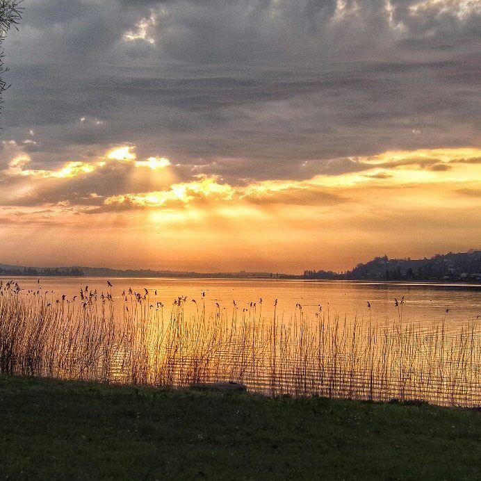 Happy weekend!  Sunrise two days ago.  .  .  #meinuntersee #bodenseepage #erlebnisnatur #bodenseepic #pictureoftheday  #red #warmcolors #sunrise #sunrise_lovers #skyporn #twilight #crepúsculo  #amanecer #Dämmerung #Sonnenaufgang #hegau #Höri #Gaienhofen #LakeConstance  #LagoDeConstanza #Bodensee  #Germany #Alemania#Deutschland  #kodakpixpro #kodak_photo #AZ362