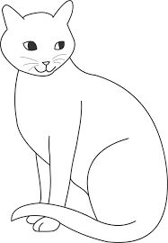Dessins De Coloriage Chat A Imprimer