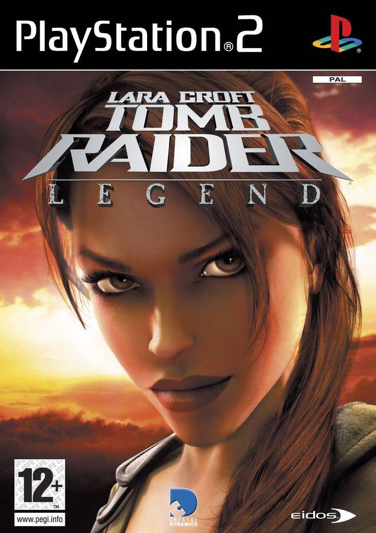Lara Croft Tomb Raider Legend (PS2, Fr, Complete)