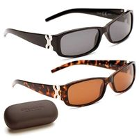 Ellie Polarized Sunglasses with free hard case included only £26.99