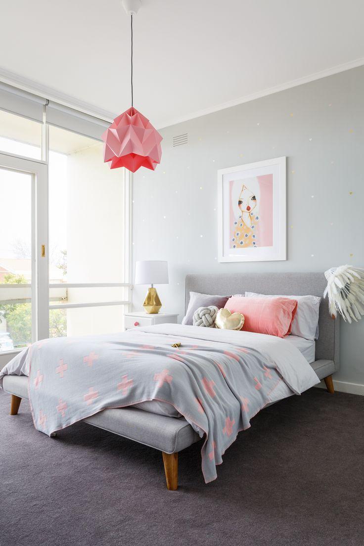 Best 20+ Pink grey bedrooms ideas on Pinterest | Grey bedrooms ...