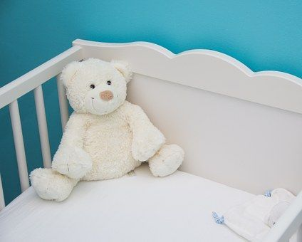 White Baby Cot idea #mom #baby #babycot #mom #idea #μαμά #μωρό #κούνια