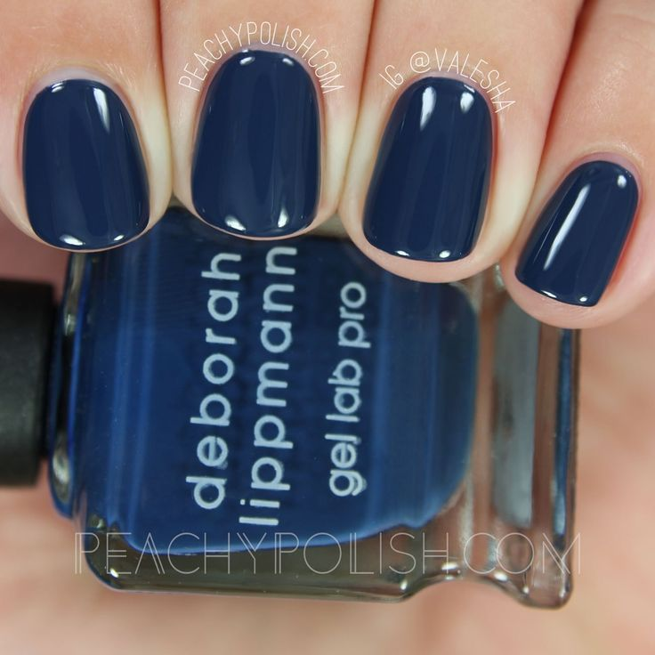 Deborah Lippmann Smoke Gets In Your Eyes   Fall 2016 After Midnight Collection   Peachy Polish