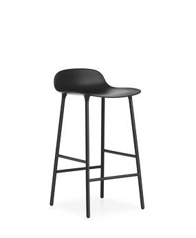 Normann Copenhagen - Form - stool - barstool - shell - plastic - steel - ±€250,- incl. BTW