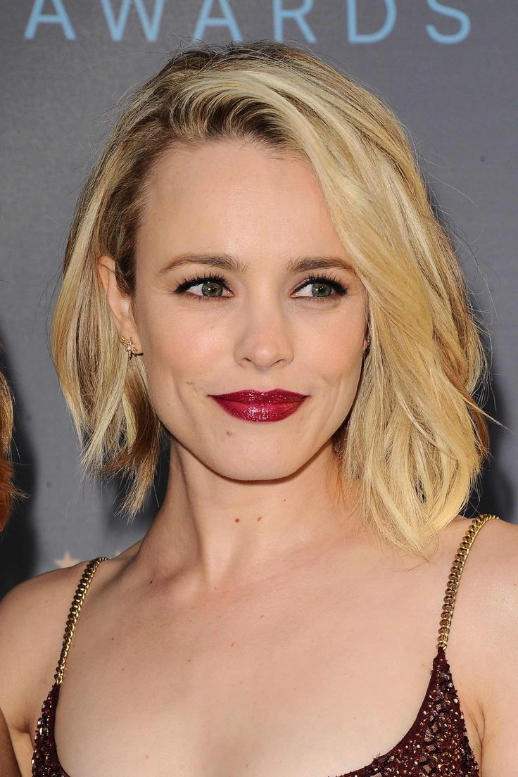 Rachel McAdams. I like the slight difference in length from one side to the other