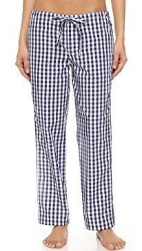 New Sleepy Jones Gingham Marina Pajama Pants online. Perfect on the Beyond Yoga Clothing from top store. Sku gwic57812dlnm53673
