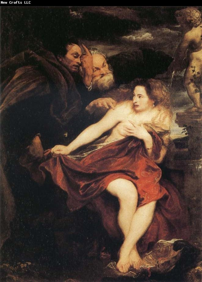 Susanna and the Elders - Anthony Van Dyck