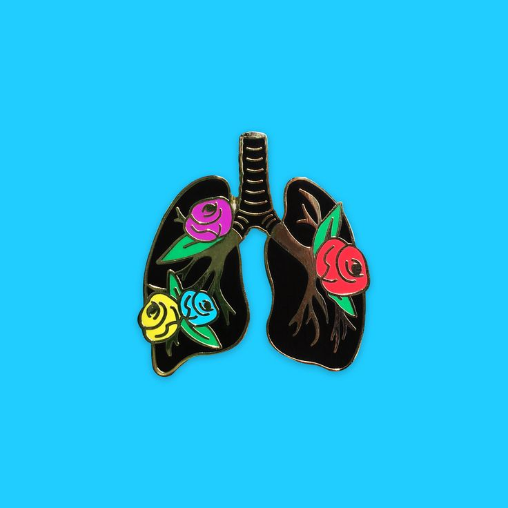 """""""We are made of living parts, Strong and fragile, With only skin to guard.We search a garden for soul, In a body that's worn, Where flowers turn to coal.""""Hard enamel pin 1.5 i..."""