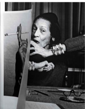 Diana Vreeland - the most inspiring woman in fashion industry.