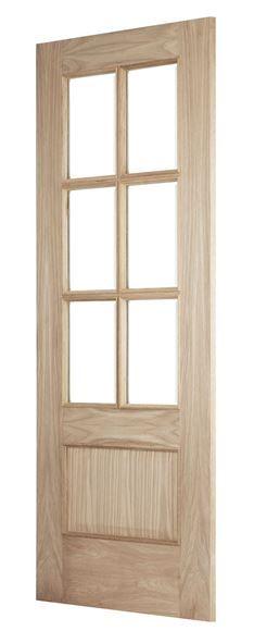 Bolection Iris 6-Light Oak Door | Buy Online via Phone or In-