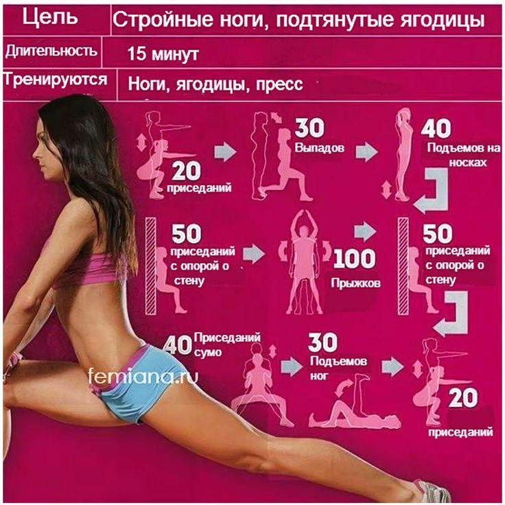 Чтобы Похудели Ноги Упражнения. Эффективные упражнения для похудения ног и бедер в домашних условиях