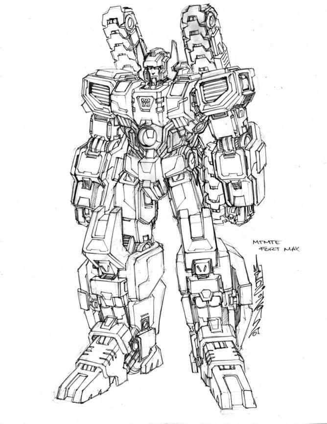 Fortress Maximus - Transformers: MTMTE Concept Art