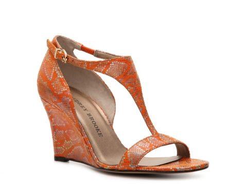 Audrey Brooke Trisha Wedge Sandal Women's Dress Sandals All Women's Sandals  Sandal Shop - DSW