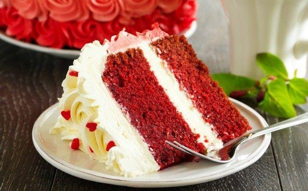 Red velvet: bolo vermelho aveludado (Foto: Divulgao / Divino Fogo)