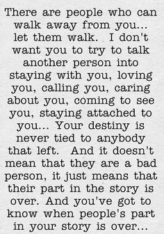 Ive always tried to live this way