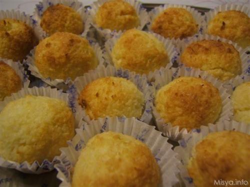 Dolcetti al cocco - Biscotti al cocco - Ricetta dolcetti al cocco
