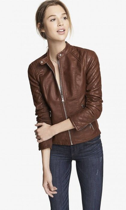 Fall Staple: Leather Jackets | theglitterguide.com