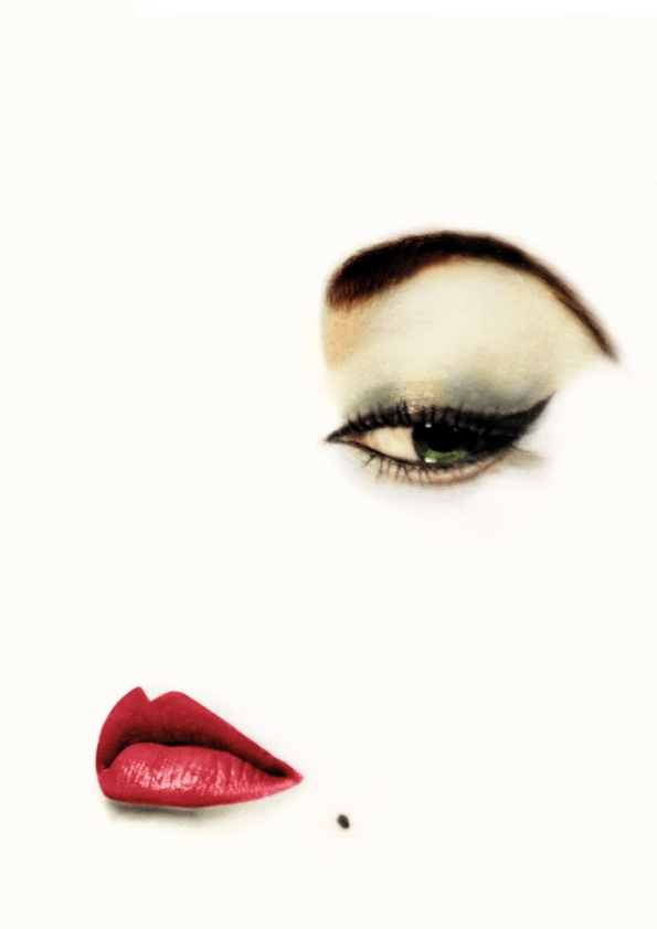 Erwin Blumenfeld (III) - another cover with typical 1950's makeup